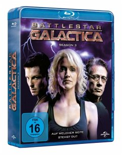 Battlestar Galactica - Season 3 BLU-RAY Box - Edward James Olmos,Mary Mcdonnell,Jamie Bamber
