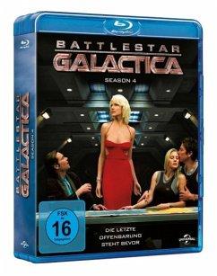 Battlestar Galactica - Season 4 BLU-RAY Box - Edward James Olmos,Mary Mcdonnell,Jamie Bamber