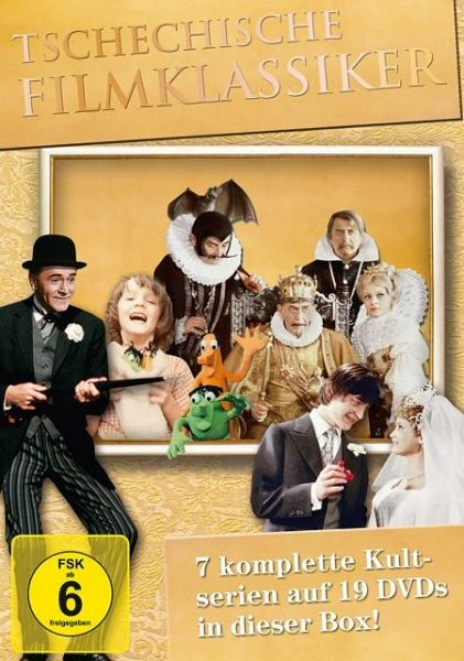 Tschechische Filmklassiker 19 DVDs