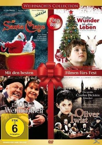 weihnachts collection film auf dvd. Black Bedroom Furniture Sets. Home Design Ideas
