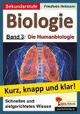 Biologie 3 - Grundwissen kurz, knapp und klar!