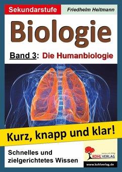 Biologie 3 - Grundwissen kurz, knapp und klar! - Heitmann, Friedhelm; Roleff-Scholz, Dorle
