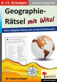 Geographie-Rätsel mit Witz! - 8.-13. Schuljahr
