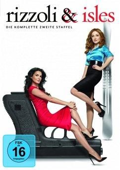 Rizzoli & Isles - Die komplette zweite Staffel (4 Discs) - Angie Harmon,Sasha Alexander,Jordan Bridges