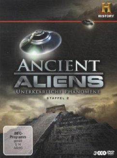 Ancient Aliens - Unerklärliche Phänomene, Staffel 2 (3 Discs)