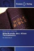 Bibelkunde des Alten Testaments