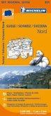 Michelin Karte Schweiz Nord; Suisse Nord; Svizzera Nord