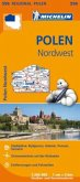 Michelin Karte Polen Nordwest; Pologne Nord-Ouest