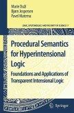 Procedural Semantics for Hyperintensional Logic