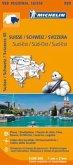 Michelin Karte Suisse Sud-Est; Schweiz Süd-Ost / Svizzera Sud-Est