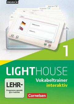5. Schuljahr, Vokabeltrainer interaktiv, CD-ROM / English G Lighthouse, Allgemeine Ausgabe 1