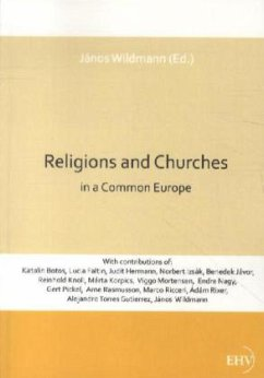 Religions and Churches in a Common Europe - Wildmann, Janos
