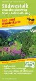 PublicPress Rad- und Wanderkarte Südwestalb, Donauberglandweg, Donau-Zollernalb-Weg