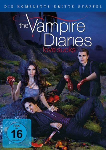 The Vampire Diaries - Die komplette dritte Staffel (6 Discs)