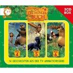 Das Dschungelbuch Hörspielbox, 3 Audio-CDs