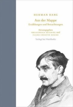 Hermann Bang - Aus der Mappe - Bang, Hermann
