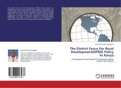 The District Focus For Rural Development(DFRD) Policy In Kenya
