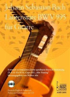 Lautensuite BWV 995 für Gitarre, m. Audio-CD