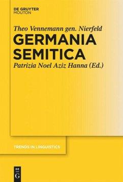 Germania Semitica - Vennemann gen. Nierfeld, Theo