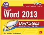 Microsoft (R) Word 2013 QuickSteps