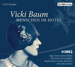 Menschen im Hotel, 1 Audio-CD - Baum, Vicki