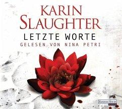 Letzte Worte / Georgia Bd.2 (6 Audio-CDs) - Slaughter, Karin
