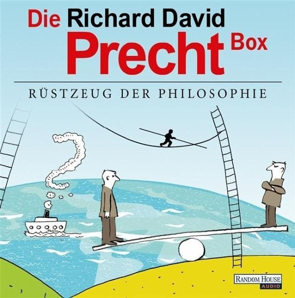 Die Richard David Precht Box - Rüstzeug der Philosophie, 13 Audio-CDs - Precht, Richard David