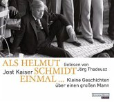 Als Helmut Schmidt einmal ..., 1 Audio-CD