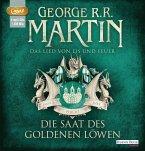 Die Saat des goldenen Löwen / Das Lied von Eis und Feuer Bd.4 (3 MP3-CDs)