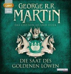 Die Saat des goldenen Löwen / Das Lied von Eis und Feuer Bd.4 (3 MP3-CDs) - Martin, George R. R.