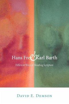 Hans Frei and Karl Barth