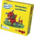 Mini Ratz-Fatz (Kinderspiel), Buchstaben und Wörter