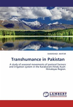 Transhumance in Pakistan - AKHTAR, SHAMSHAD