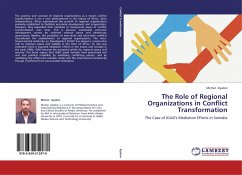 The Role of Regional Organizations in Conflict Transformation