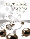 Hark, The Herald Angels Sing, 4 trombones (tenor horns), Partitur und Stimmen