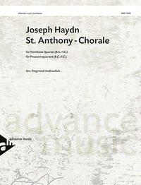 St. Anthony - Chorale, 4 Posaunen/Tenorhörner, Partitur und Stimmen - Haydn, Joseph