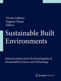 Sustainable Built Environments