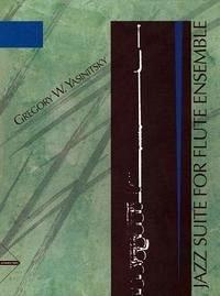 Jazz Suite For Flute Ensemble, 4 Flöten, Partitur und Stimmen