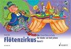 Flötenzirkus, für Sopran-Blockflöte, m. Audio-CD