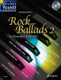 Rock Ballads, Klavier, m. Audio-CD
