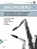 Intermediate Jazz Conception Alto & Baritone Sax, w. Audio-CD