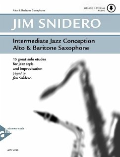 Intermediate Jazz Conception Alto & Baritone Sax, w. Audio-CD - Snidero, Jim