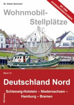 Wohnmobil-Stellplätze 15. Deutschland Nord