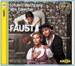 Faust 1, 1 Audio-CD - Goethe, Johann Wolfgang von