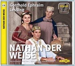 Nathan der Weise, 1 Audio-CD - Lessing, Gotthold Ephraim