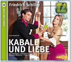Kabale und Liebe, 1 Audio-CD - Schiller, Friedrich von