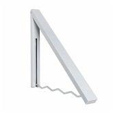 Garderobe Kroko Weiß