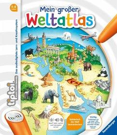 Mein großer Weltatlas / tiptoi® Kindersachbuch - Friese, Inka