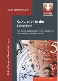 Kalkulation in der Zeitarbeit