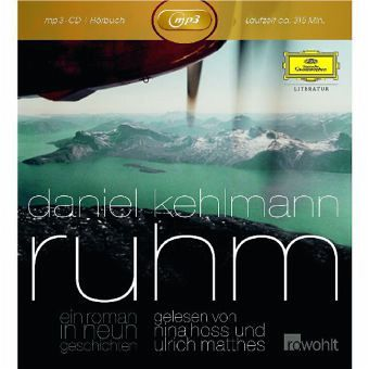 Ruhm, 1 MP3-CD - Kehlmann, Daniel